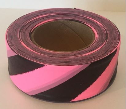Picture of Flagging tape - stripe glo pink