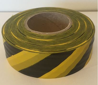 Picture of Flagging tape - stripe yellow