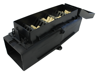 Picture of Pied Piper rat bait station for cereal pellets
