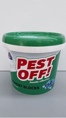 Picture of PEST OFF! Rodent Blocks 500g