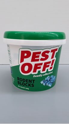 Picture of PEST OFF! Rodent Blocks 200g