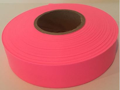 Picture of Flagging tape - glo pink