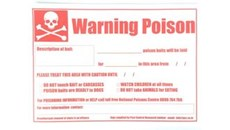 Picture of Warning sign - generic (PFS1003)